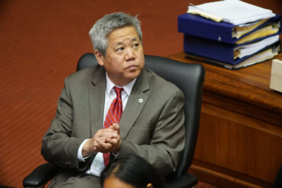 House Speaker Scott Saiki during floor session2.