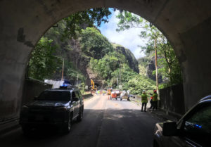 Pali Highway Work To Continue Into December