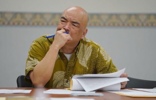 Council on Revenues Chair Kurt Kawafuchi during meeting.