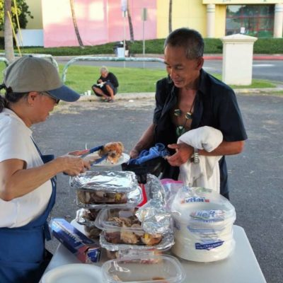 Denby Fawcett: Feeding The Homeless When The City Says Not To