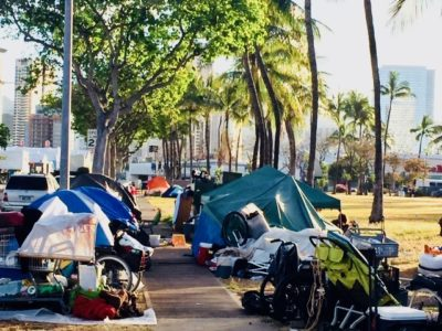 Oahu's Annual Homeless Count Gets Digital Upgrade