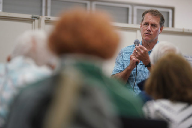 Congressman Ed Case Talk Story at Campbell High School.