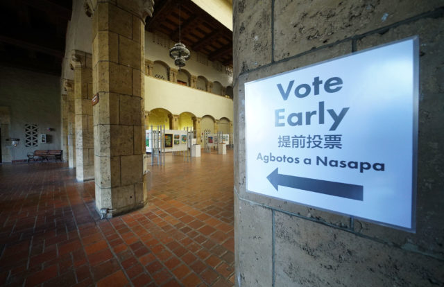 Early Voting Special Election at Honolulu Hale1.
