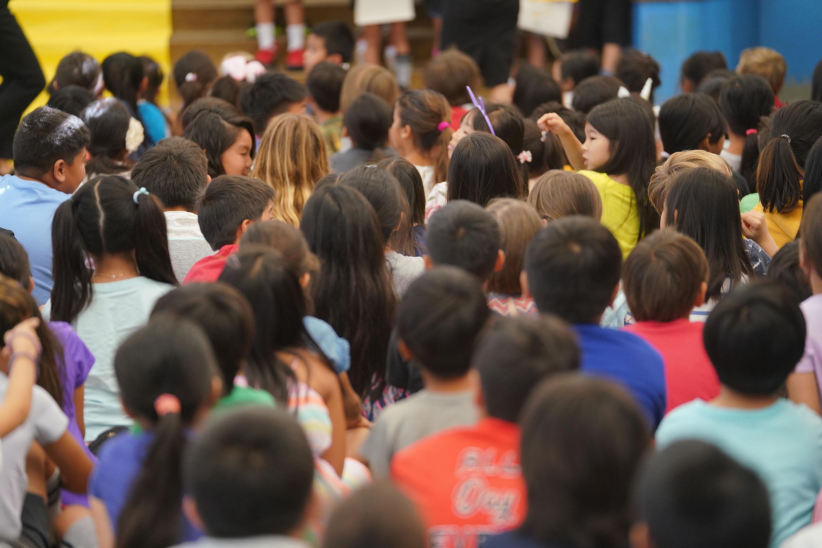 Hokulani Elementary School kids.
