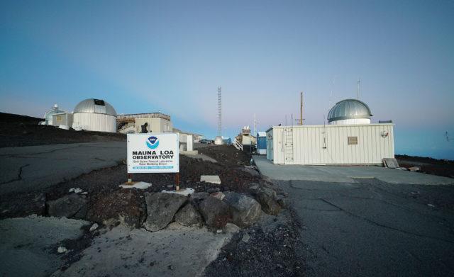 Mauna Loa NOAA Observatory.