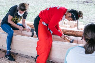 Big Island: Hawaii's New Generation Of Women Canoe Carvers