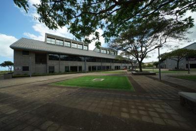 UH West Oahu Building E Laboratory building.