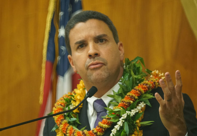 Honolulu City Council Chair Ikaika Anderson.