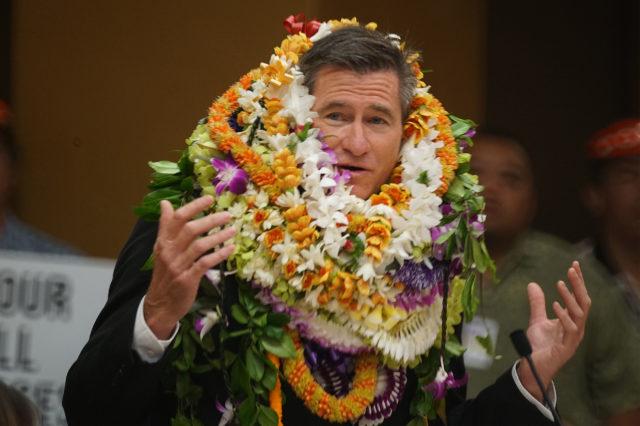 Newly Sworn in Honolulu Councilmember Tommy Waters.