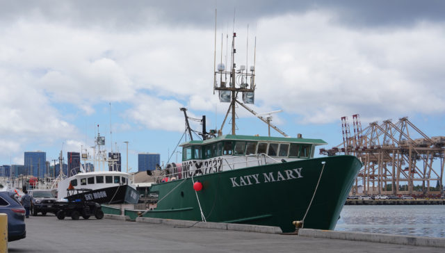 Katy Mary Fishing Boat at Pier 38.