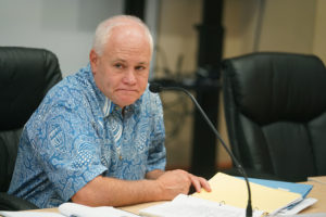 HART Executive Director Andrew Robbins at HART Board Meeting.