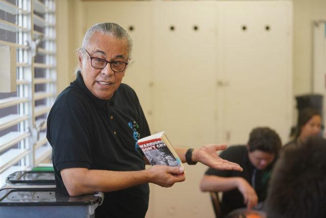 Molokai High School AVID Teacher Richard Ornellas.
