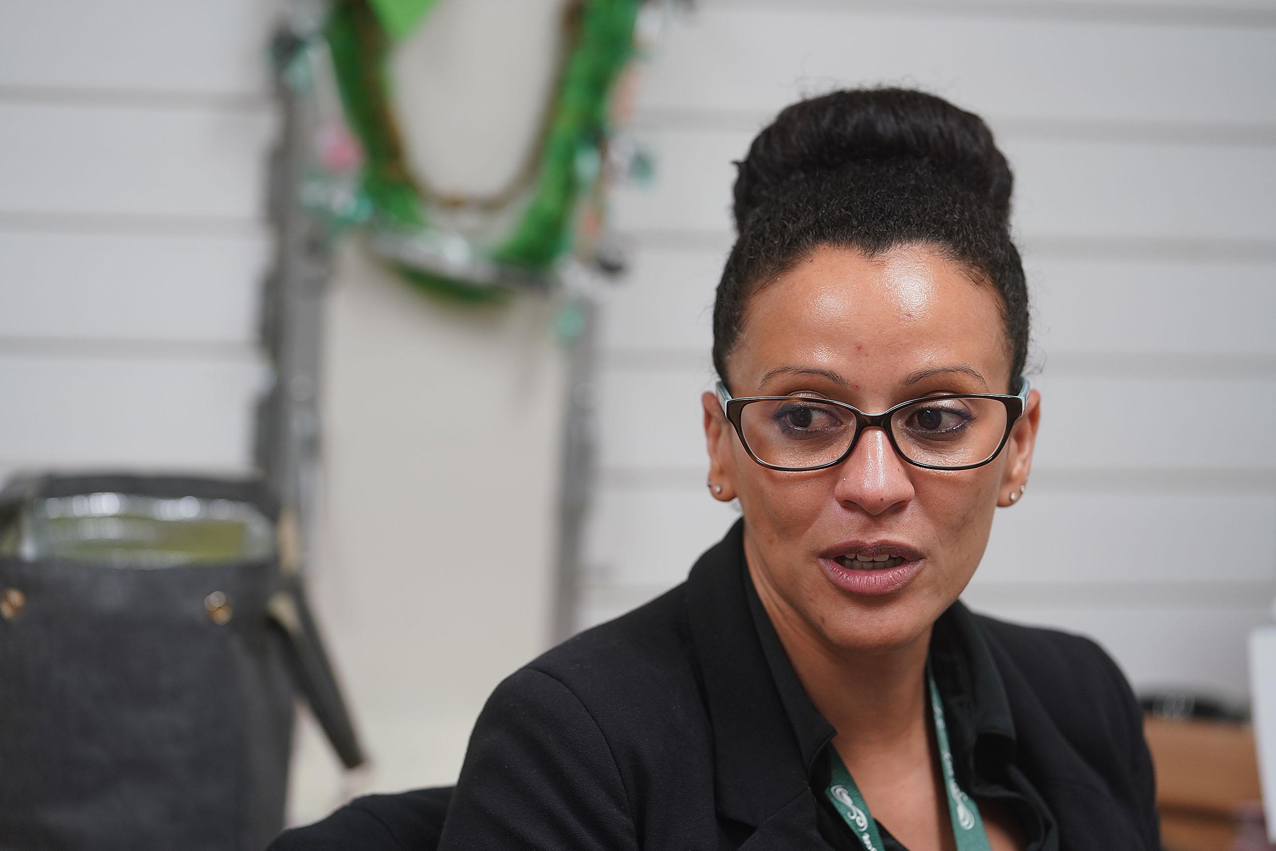 Molokai High School Principal Dr Katina Soares.