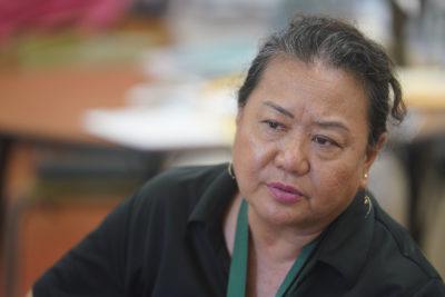 Molokai High School teacher Karen Harada.
