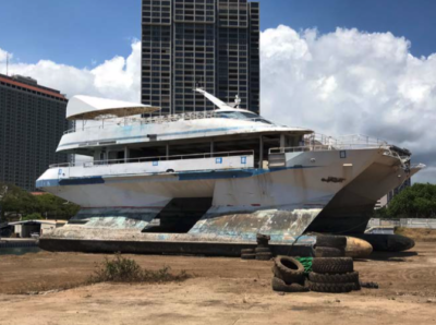 State To Auction Off Navatek II, Other Impounded Boats