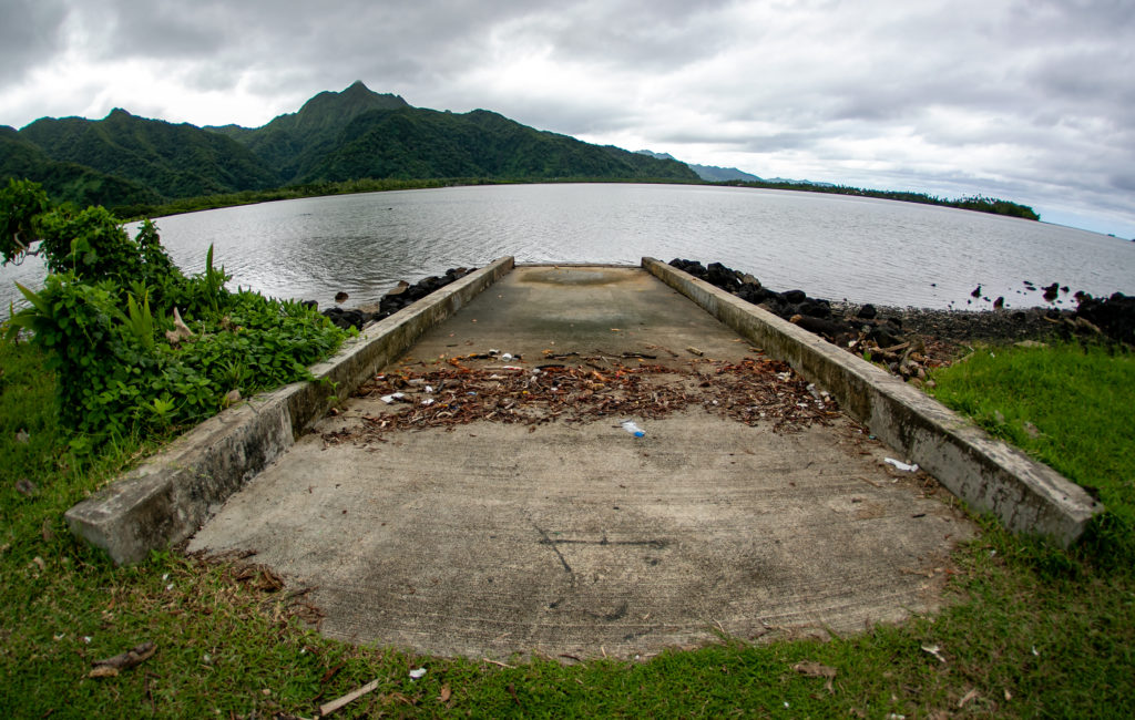 Little-Used Boat Ramps, An Abandoned Marketplace, Rusting Ice Machines