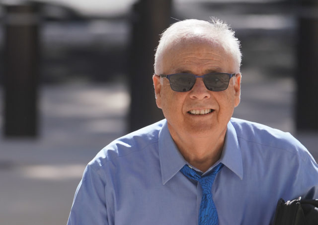 Chuck Totto arrives at District Court. June 7, 2019