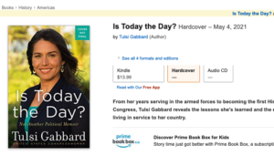 Chad Blair: Today Is Not The Day For Tulsi Gabbard's Political Memoir