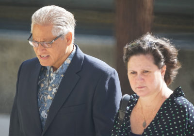 Former HPD Chief Louis Kealoha and Katherine Kealoha arrive to District Court. June 19, 2019