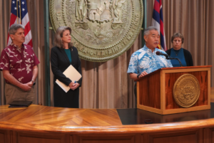 Danny De Gracia: Governor Needs To Make A Decision On Mauna Kea