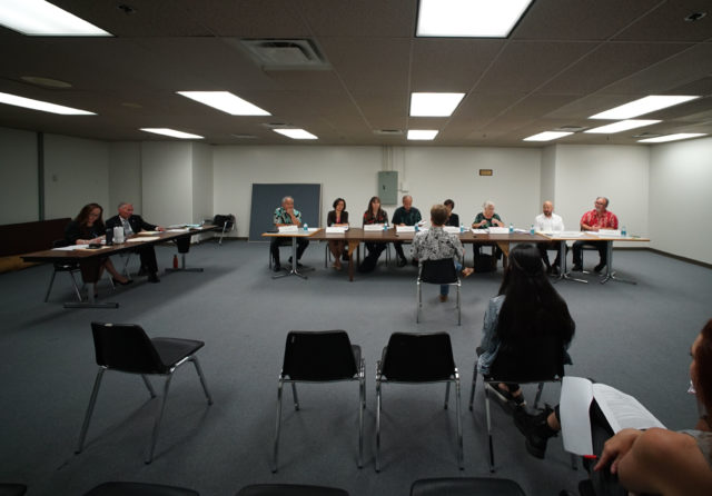 Officer Independent Review Board meeting.