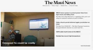 The Maui News Cancels Its Sunday Newspaper