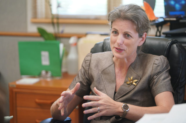 Attorney General Clare Connors.