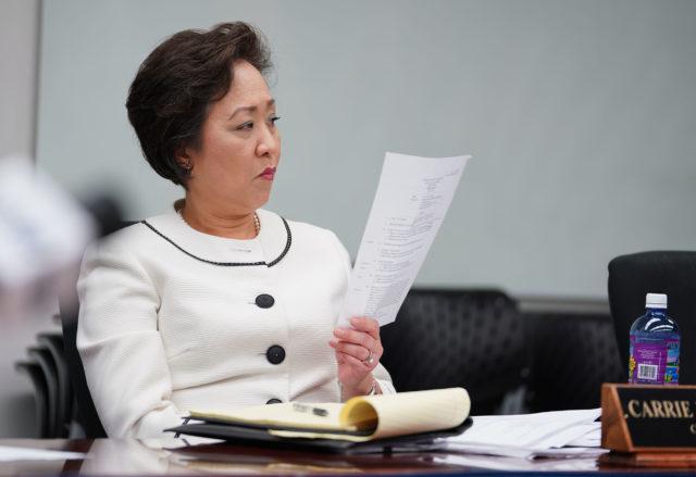 Honolulu Police Commissioner Carrie Okinaga.