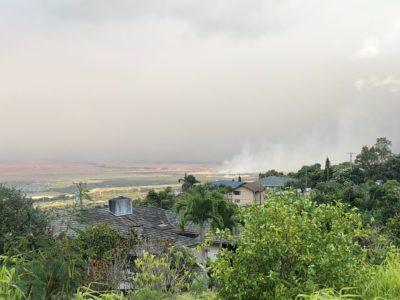 Maui Brush Fire Forces Evacuations