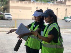 Squeezing Along Narrow Sidewalks And Racing Crosswalk Timers In Waikiki