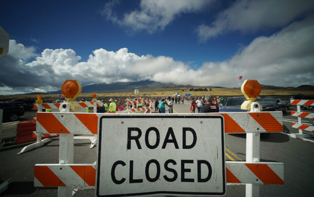 Demonstrators found out there would be no arrests today even though the kupuna protestors continued to block Mauna Kea Access Road. July 16, 2019