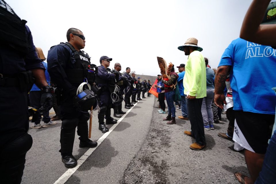 Another 'Truce' After A Day Of Arrests On Mauna Kea