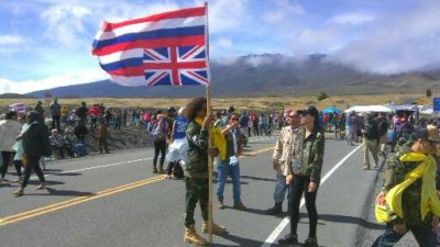 Another Day Of Waiting For Protesters, Authorities At Mauna Kea