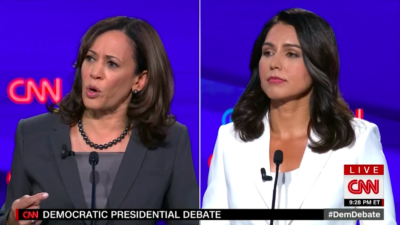Tulsi Gabbard Attacks Kamala Harris In Presidential Debate