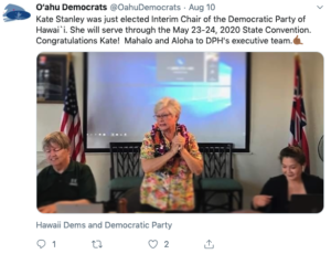 Hawaii Democrats Elect New Party Chair