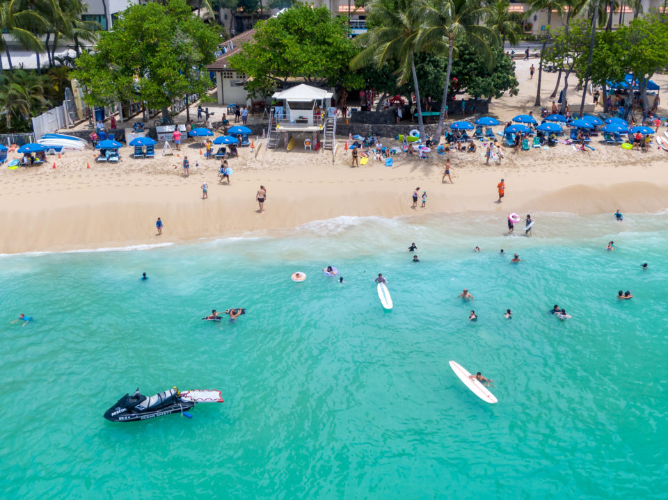 Proactive Beach Management Measures Underway In Waikiki