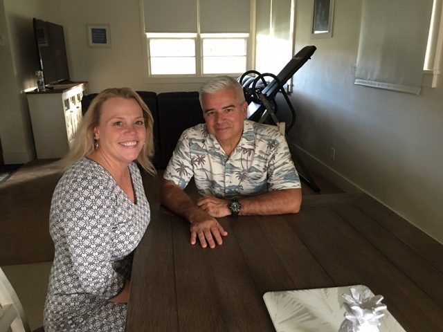 Pamela and Carlos Escuza had a string of problems while living at Hickam base housing.