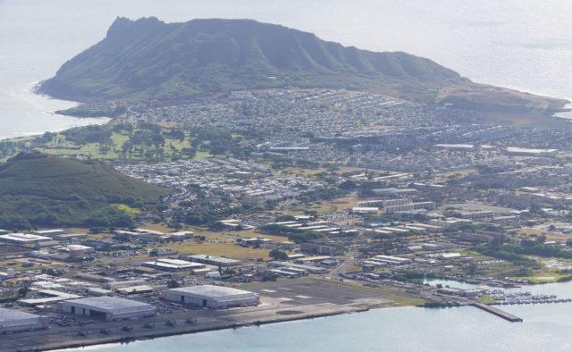 Marine Corps Base Hawaii. Mokapu Peninsula.