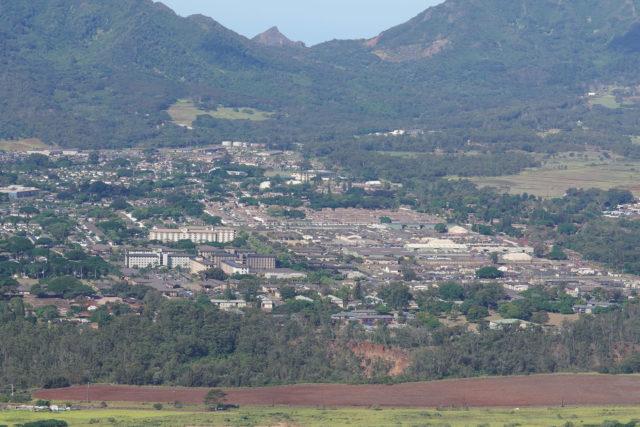 Military Housing at Schofield Barracks in Wahiawa.