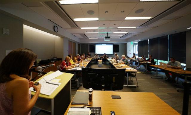 University of Hawaii Board of Regents Meeting.