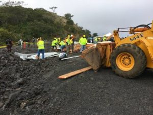 2 Arrested As State Demolishes Structure Built By TMT Opponents On Mauna Kea