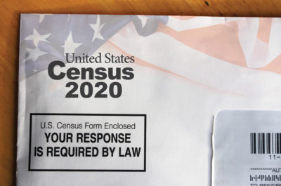 U.S. Census Sample Mail Form 2020
