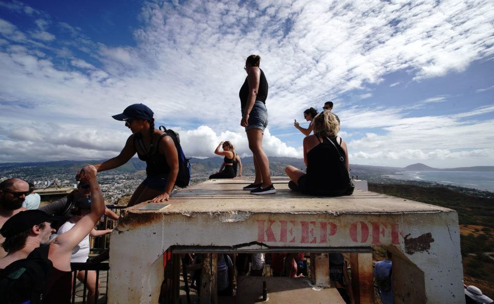 Denby Fawcett: Diamond Head's Summit Lookout Is Falling Apart — And There's Little Money To Fix It