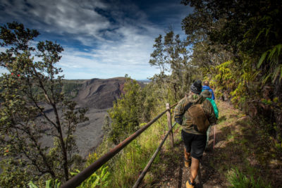 Big Island: A Popular Volcano Trail Is Rebuilt With A Lot Of Sweat Equity