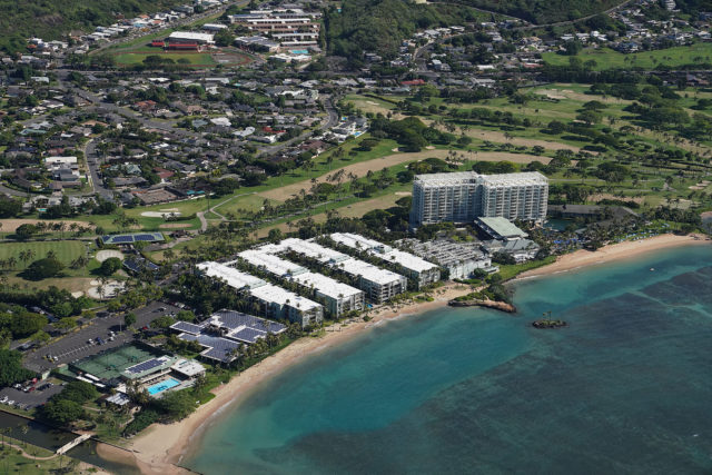 Kahala Hotel Waialae Country Club aerial 0484.