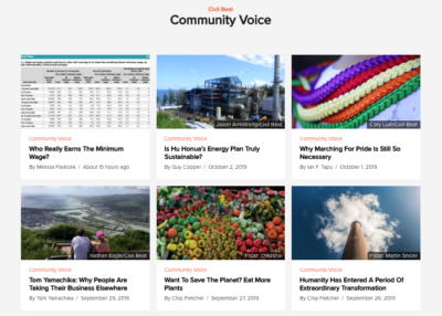 What To Expect When You Submit A Community Voice