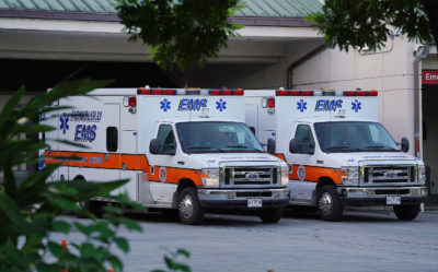 Honolulu EMS Sees Rise In Non-Emergency Coronavirus Calls