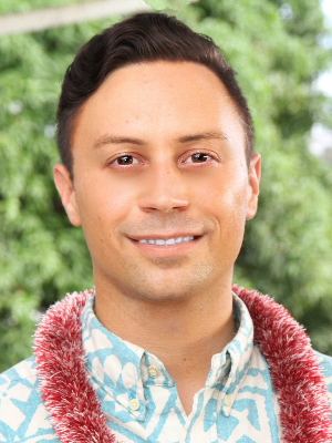 Dylan Armstrong, chair of the Manoa Neighborhood Board
