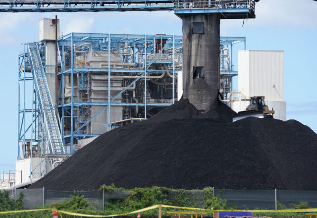 AES Hawaii Power plant coal burning electric powerplant located in Kalaeloa.