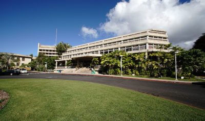 UH Manoa Student Services Building.